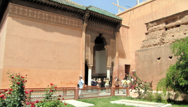Maroc Marrakech tombeaux saâdiens