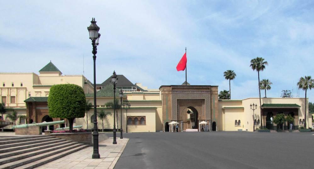 Maroc Rabat Palais Royal