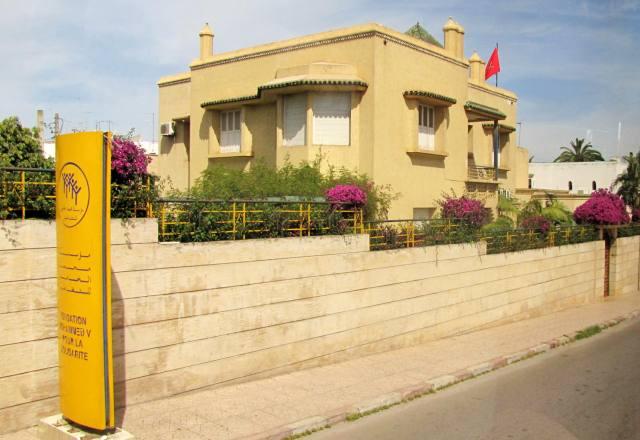Rabat Fondation Mohamed V pour la solidarite rue Assaadiyne