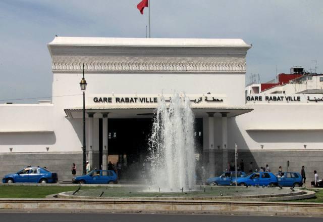 Maroc Rabat gare centrale
