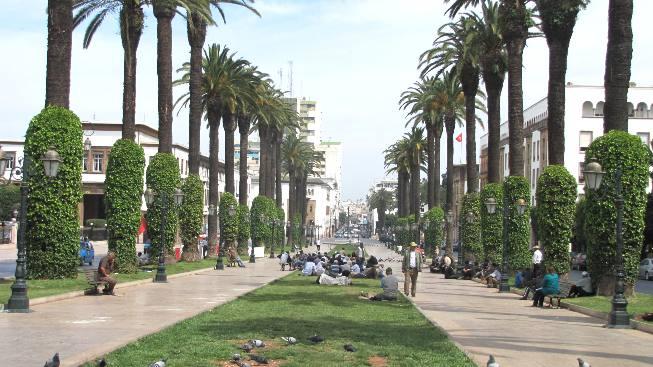 Maroc Rabat avenue mohamed V
