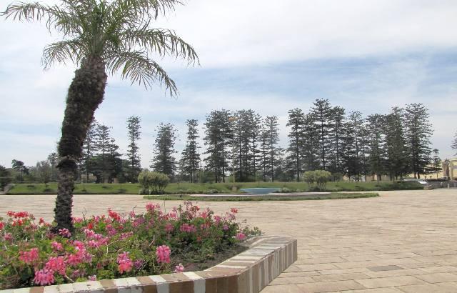 Rabat parc du palais Royal