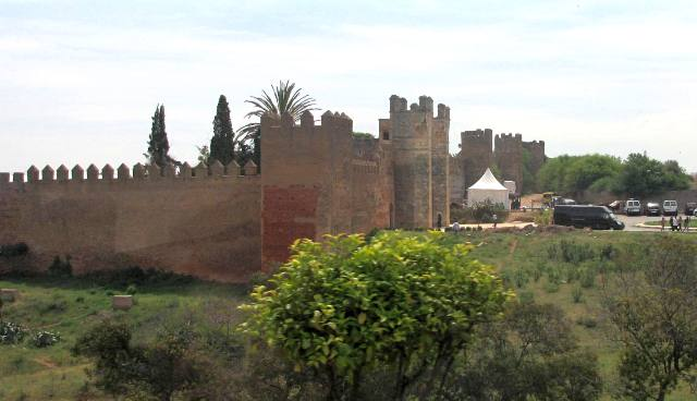 Maroc Rabat necropole du Chellah