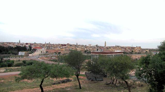Maroc panorama sur Meknes