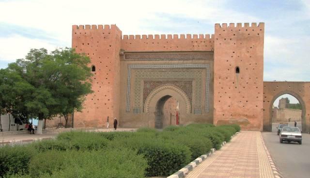 Maroc Meknes porte de la ville