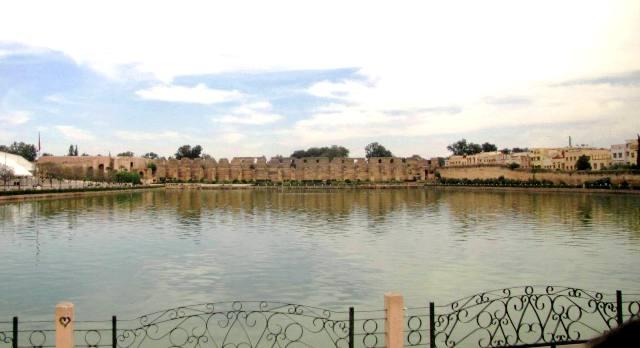Maroc Meknes reservoir d-eau de la ville