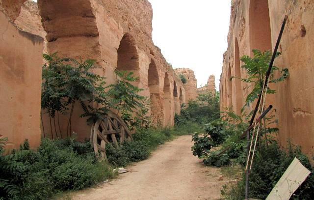Maroc Meknes ecuries de Moulay Ismail