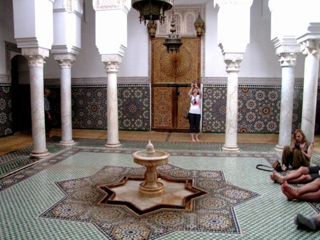 Maroc Meknes Mausolee de Moulay Ismail