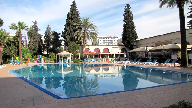 Maroc Fes Piscine hotel Royal Mirage