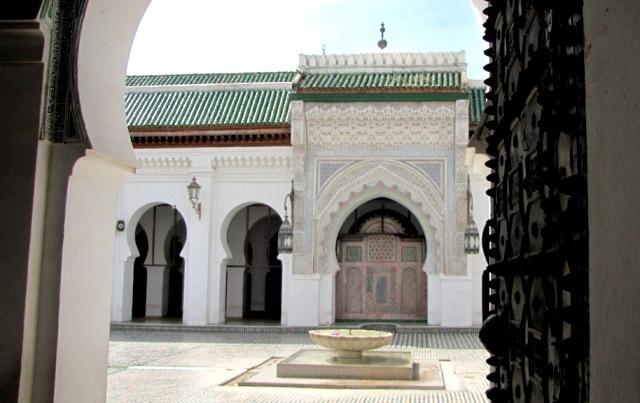 Maroc Fes Moskee Karouine