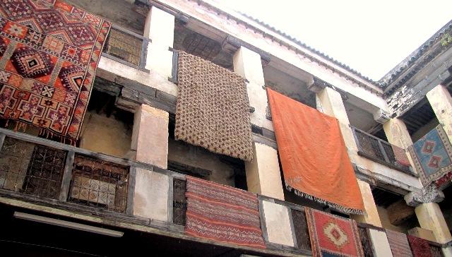 Maroc Fes vente de tapis