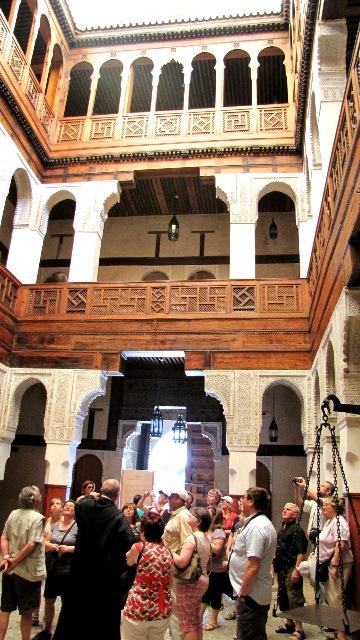 Maroc Fes musee du bois