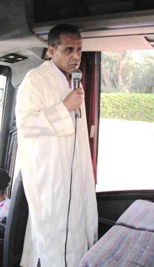 Hassan, notre guide pour Marrakech